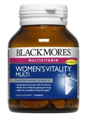 Blackmores Women's Vitality Multi, 50 tabs